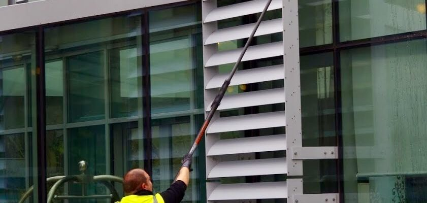 Why is it important to have regular facade cleaning?