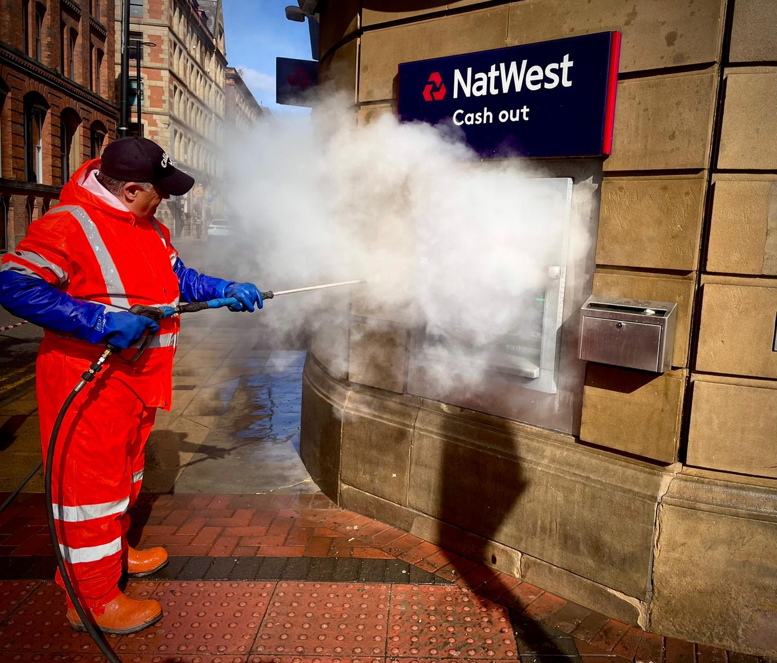 Doff steam cleaner